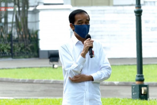 Presiden minta pedagang tetap bersemangat di tengah pandemi