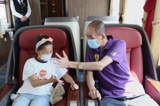 Kereta spesial liburan musim panas diluncurkan di China utara