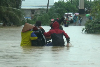 Banjir landa tujuh kecamatan di Aceh Barat