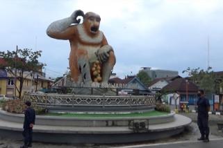 Siring Menara Pandang di Kota Banjarmasin belum dibuka