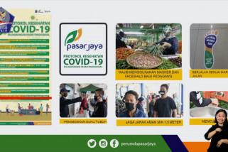 Sebanyak 7.202 pedagang pasar di DKI telah jalani tes usapCOVID-19
