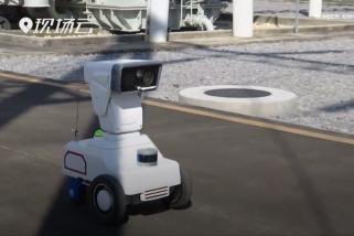 Robot patroli pintar bantu inspeksi gardu listrik