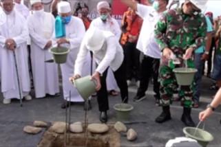 Pembangunan Pusat Olahraga Sumatera Utara dimulai