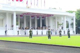 Mengintip gladi kotor upacara HUT RI ke-75 di Istana Merdeka