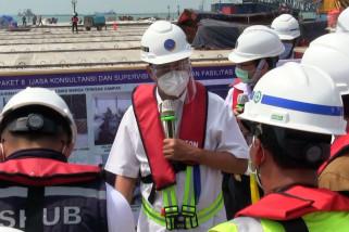 Menhub : Fase pertama Pelabuhan Patimban rampung November mendatang