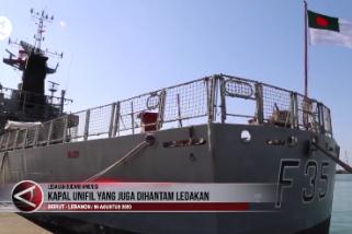 Kapal UNIFIL juga dihantam ledakan