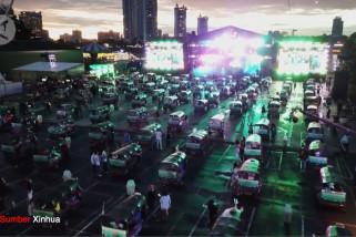 Bangkok gelar festival musik drive-in tuk-tuk