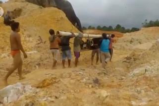 KPHL Bangka Barat akui ada aktivitas tambang ilegal di hutan lindung