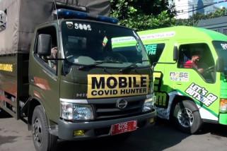 Perangi COVID-19, Polrestabes Bandung luncurkan Mobile Covid Hunter