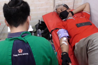 ANTARA Biro Sumut bantu stok darah PMI Medan