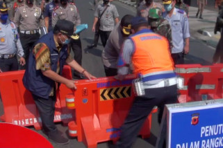 Tekan penyebaran COVID-19, Pemkot Bandung tutup lima jalan utama