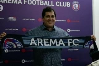 Arema FC perkenalkan pelatih baru, janjikan tim di papan atas