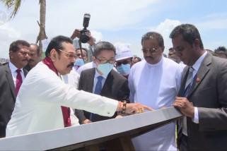 Gelar kunjungan, PM Sri Lanka optimistis masa depan Kota Pelabuhan Kolombo