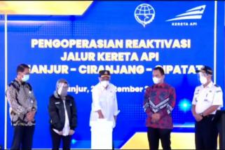 Menhub resmikan reaktivasi jalur KA Ciranjang-Cipatat