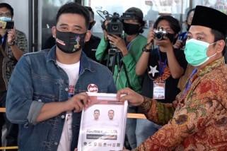 Usai mendaftar ke KPU, Bobby Nasution janjikan reformasi birokrasi