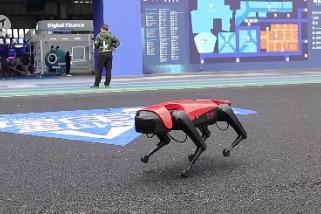 AlphaDog, anjing robotik buatan China