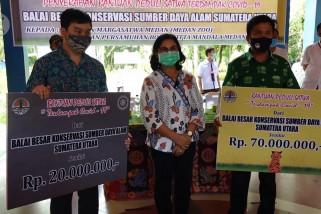 Bantuan dana untuk pakan satwa Medan Zoo