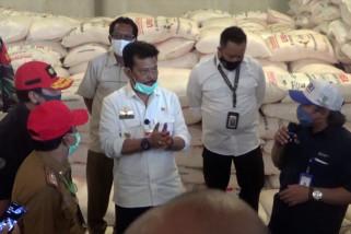 Tinjau pupuk subsidi di Kalsel, Mentan pastikan stok aman