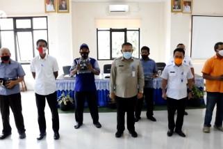 BPBD Kota Tangerang bagikan 46.500 masker ke kecamatan terdampak COVID-19