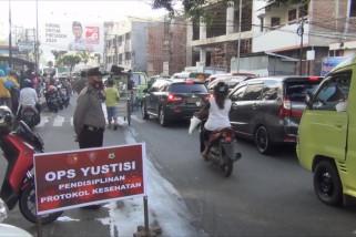 Pemkot Ambon kumpulkan denda Rp100 juta lewat operasi yustisi