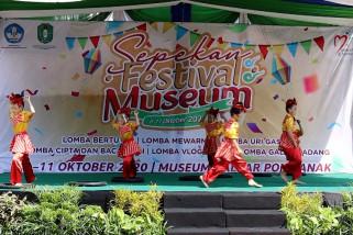 Cintai warisan budaya Kalbar lewat Sepekan Festival Museum
