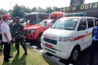 Kodim 0614 Cirebon gelar apel kesiapan hadapi bencana