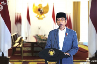 Presiden Jokowi ajak masyarakat teladani Rasulullah