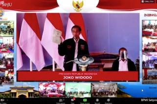 Presiden Jokowi bagikan 20 ribu sertifikat untuk masyarakat Sumatera Utara