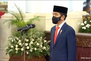 Presiden Jokowi lantik 12 duta besar LBBP RI