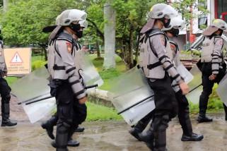 Polda Kalbar kerahkan tiga peleton Dalmas antisipasi unjuk rasa susulan