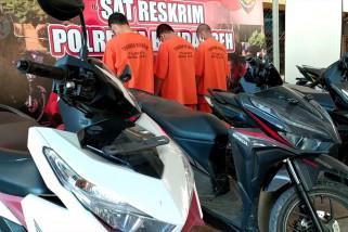 Polresta Banda Aceh bekuk komplotan spesialis curanmor antar kabupaten
