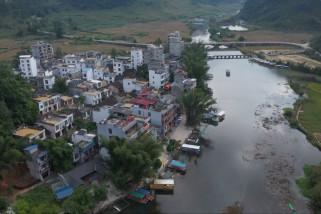 Jelajahi objek wisata Goose Spring yang indah di China selatan