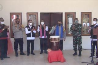 Kapolda Maluku luncurkan kampung tangguh COVID-19 di Ambon