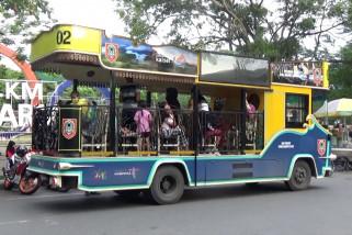 Bus Bajajalanan, ajakwisatawanberkeliling Banjarmasin