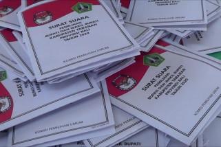 Cegah klaster COVID-19, KPU Tabanan batasi jumlah pelipat surat suara