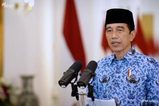 Presiden Jokowi tegaskan reformasi birokrasi dan struktural tak bisa ditunda lagi