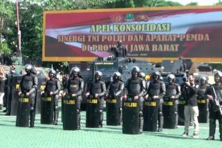 Sebanyak 8000 personel TNI-Polri dan Pemprov Jabar amankan pilkada