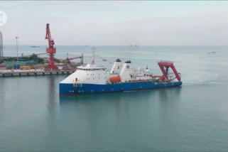 Kapal selam berawak China Fendouzhe kembali dari misi ekspedisi laut