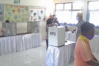 Pantau simulasi di Bali, KPU jamin kesehatan saat Pilkada