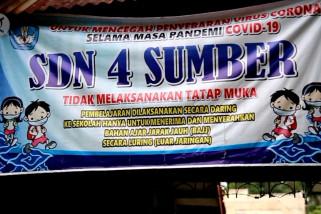 KBM di Kabupaten Cirebon belum dibuka