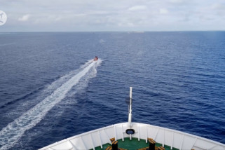 Rute wisata kapal pesiar ke Laut China Selatan kembali dilanjutkan