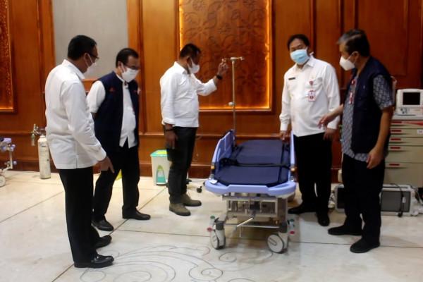 Pemprov Jatim siapkan ICU mini untuk proses vaksinasi