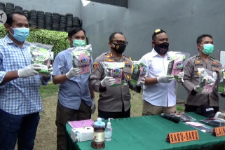 Polrestabes Surabaya gagalkan peredaran sabu-sabu 8,3 kilogram