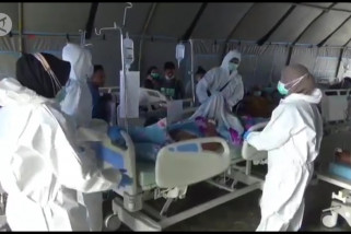 Kemenkes pastikan layanan kesehatan korban gempa Mamuju baik