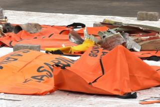 Tim DVI Polri terima 162 kantong jenazah Sriwijaya Air