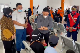 Wali kota Pontianak tinjau kesiapan pusat krisis di Bandara Supadio