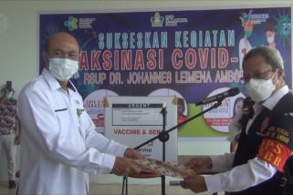 Pemkot Ambon distribusikan vaksin ke 29 faskes