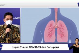 17 Persen pneumonia COVID-19 berpotensi sembuh