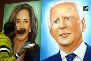 Jelang pelantikan Biden, pelukis Amritsar ingin hadiahkan potretnya