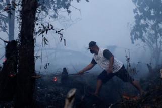 Dikepung 741 titik api, 6 kabupaten/kota di Kalbar Siaga Karhutla